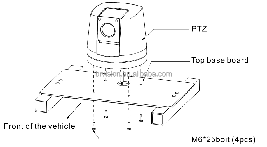 Hot Selling Auto Tracking Ptz Ip Camera For Heavy Duty