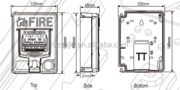 Chinese Fire Alarm Call Point Wire Diagram : 42 Wiring
