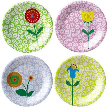 Colorful Wholesale Kids Melamine Dinner Plates