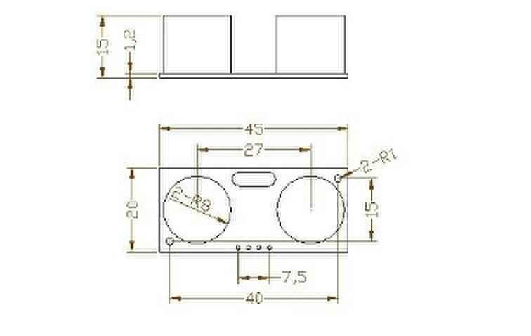 Srf05 / Hc-sr05 Precise Ultrasonic Range Sensor Module