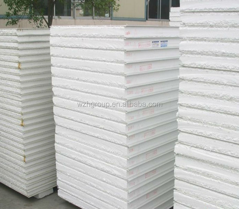 Styrofoam Eps Clean / Cool Room Wall Cladding Flat White
