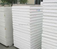 Styrofoam Eps Clean / Cool Room Wall Cladding Flat White