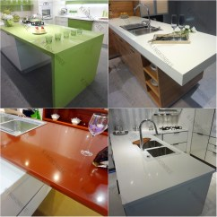 Epoxy Resin Kitchen Countertops Unfinished Cabinets Artificial Stone Countertop Buy