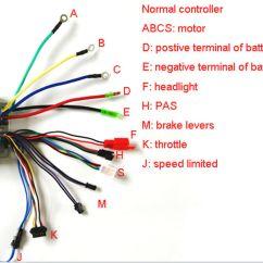 Wiring Diagram For Electric Brake Controller Gmc Sierra Trailer 48v 26a Interlligent Bike - Buy Controller,electric ...