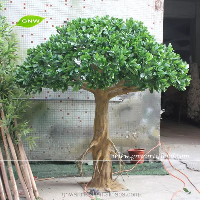 indoor platic fake tree