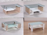 Living Room Furniture Glass Top Center Table Design Mdf ...