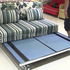 Metal Frame Sofa Bed Scs Reviews Cheap Hospitality Space Saving For Small Apartments