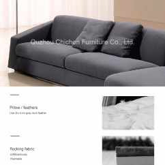 Duck Feather Corner Sofa Bradington Young Quality Contemporary Minimalism Style Living Room Furniture Fabric Wooden And Chaise Lounge