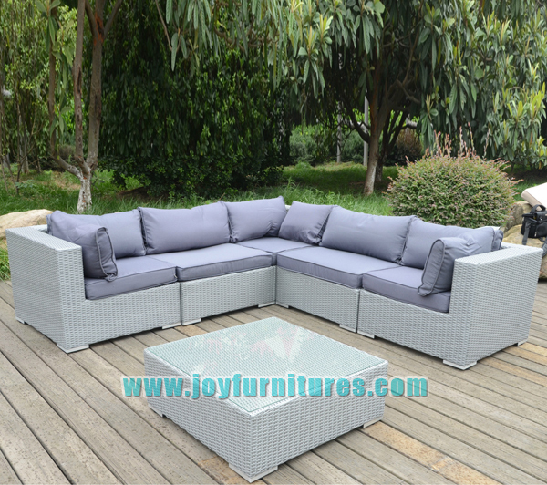 l shaped cane sofa sets new rattan wicker weave garden furniture