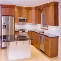 Luxury Cherry Solid Wood Kitchen Cabinet(sapiential ...