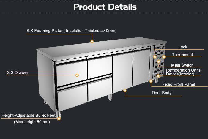 Restauratnt Commercial Kitchen Stainless Steel Food