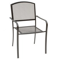 Cheap Metal Mesh Outdoor Dining Round Table and Chairs set ...