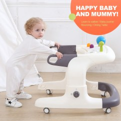 Walker Bouncing Chair Kids Wood Rocking 2018 China Cheap Small Baby Price 8 Wheels Plastic Walking New