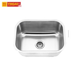 Kitchen Sinks With Drain Boards Magic Grill Single Bowl 201stainless Steel Sink Board Buy
