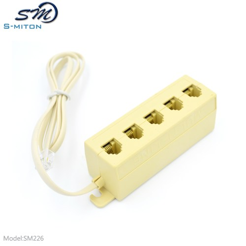 small resolution of oem 5 way telephone jack multiple phone modular outlet