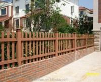 Fences For Terraces/balcony Fence Wpc/wood Plastic ...