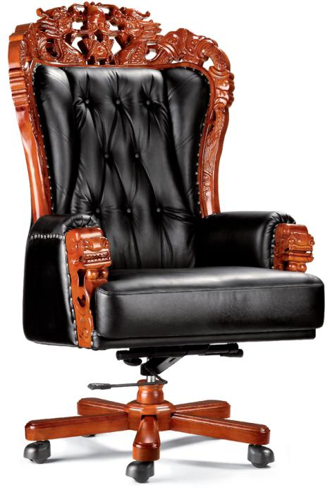 throne office chair on yoga high end elegant ceo boss executive with wooden