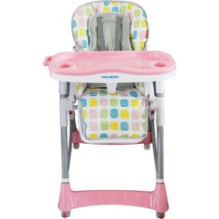 Height Adjustable High Chair Baby Desk Chairs Not On Wheels Easy Folding Connection With Big Tray Buy