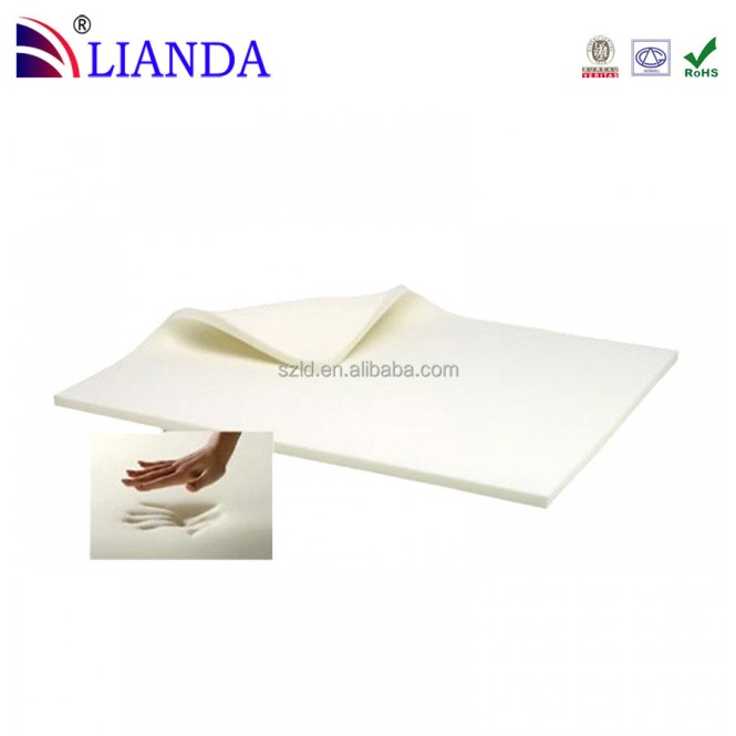 Thin Memory Foam Bed Mattress Topper Roll Table Floor Use