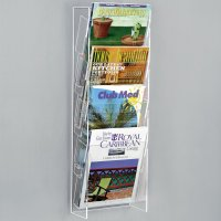 Wall Hanging Acrylic Magazine Rack - Buy Wall Magazine ...