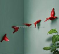 Resin 3d Lovely Birds Crafts Wall Art Decor - Buy Resin ...