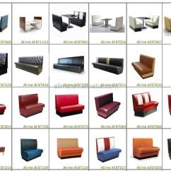 Modern Leather Living Room Sets Framed Wall Art Restaurant Diner Seating Sofa Booth - Buy ...