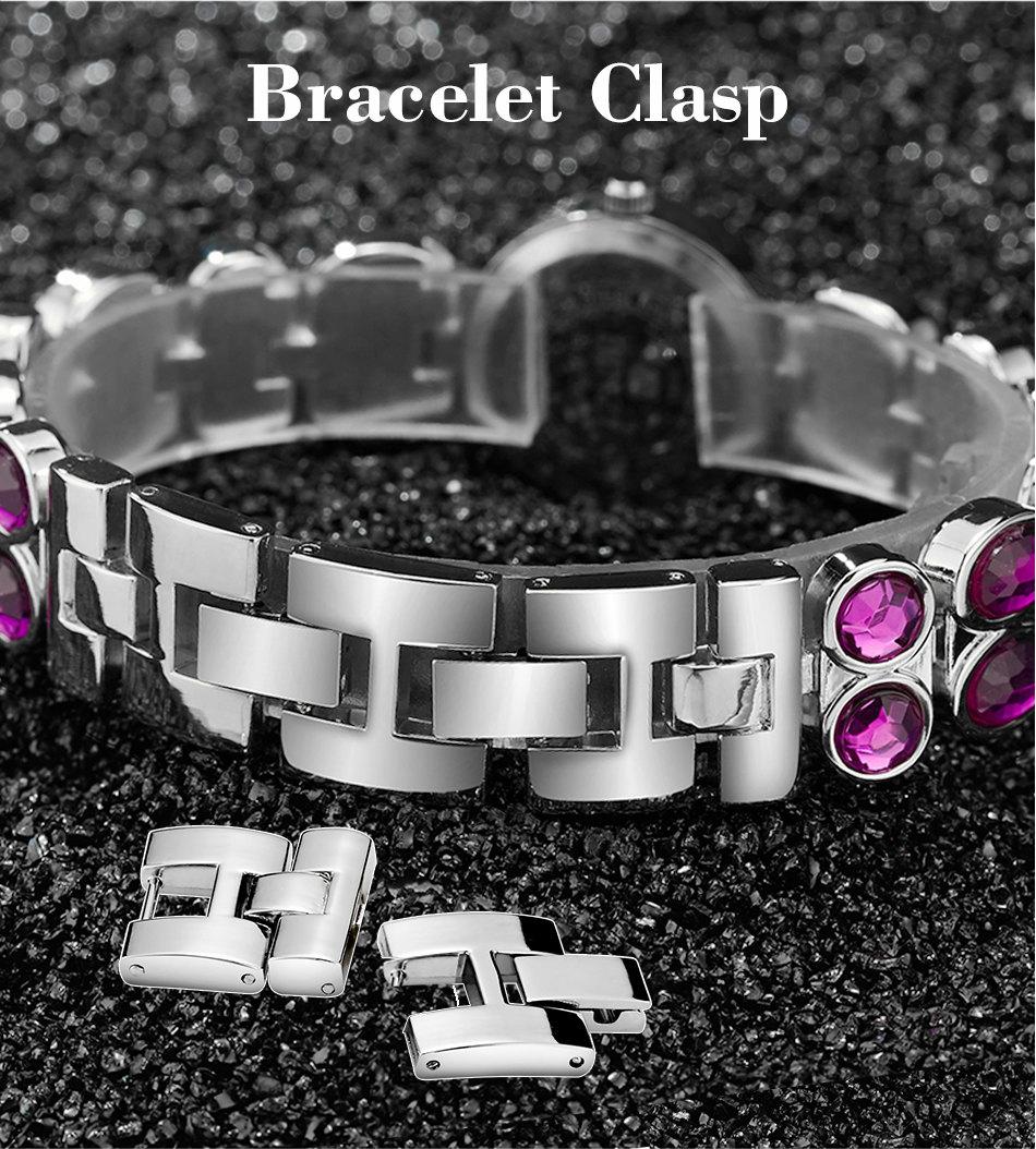 1611cf553d4 Mulheres Relógios Criativos BINZI Marca de Moda de Luxo Strass Pulseira de  Relógio de Quartzo Das Senhoras Das Mulheres Relógio de Pulso Relogio  feminino