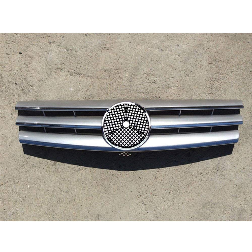 hight resolution of motorfansclub front silver cl style grille for mercedes benz sl class w129 r129