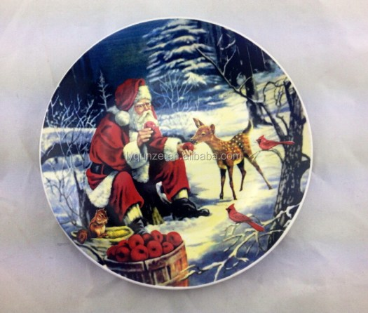 christmas decorative plates  Decoration For Home
