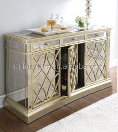 Kitchen Buffet Cabinet 4g0212 Buy French Mirrored