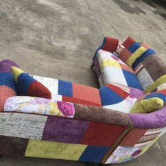 China Sofa Fabric Leather Corner Cheap Patchwork Modern - Buy ...
