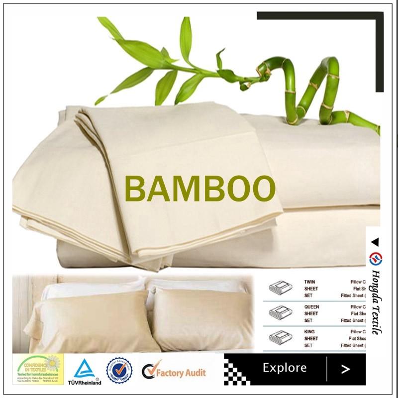 Organic Bamboo Pillowcase Natural Bamboo Pillow Cover
