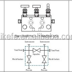 2 Way Vs 3 Valve Bogen Paging System Wiring Diagram Direct Mount Remote Manifolds And Modular Systems Ss316 Manifold