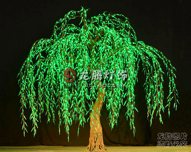 Wholesale Professional Landscape Artificial Led Weeping
