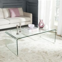 Clear Acrylic Waterfall Console Table Coffee Table Lucite ...