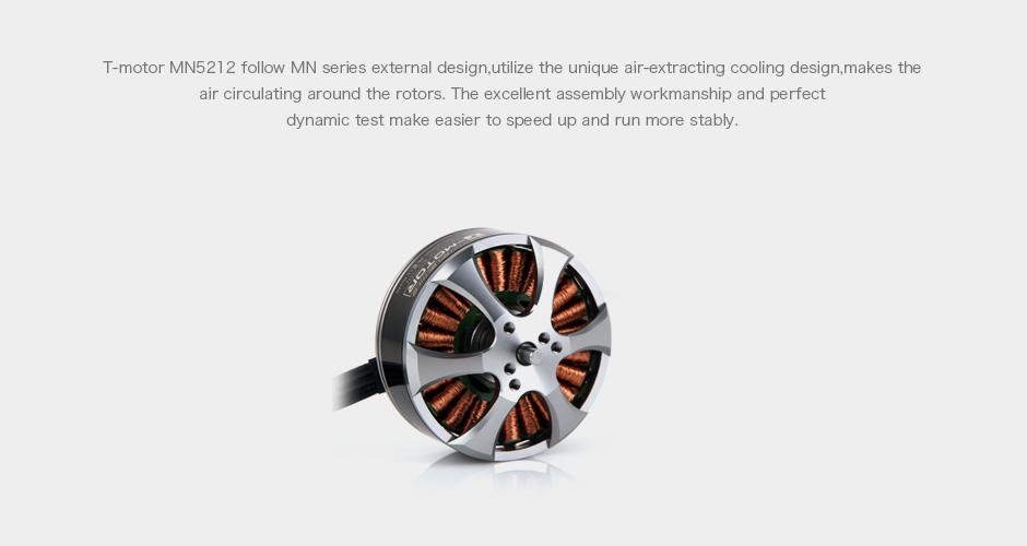 T-motor Mn5212 Kv340 Kv420 Cw Ccw Ultralight Engines For