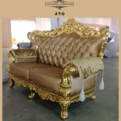 Gold Leather Sofa Set Recliner Repair American Style Fabric Sets Home Design Couch Buy Antique