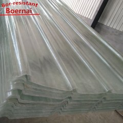 Bor Roofing High Quality Transparent Frp Sunlight Sheets Price
