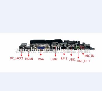 Industrial Motherboard1037u With Lvds Mini-itx Motherboard