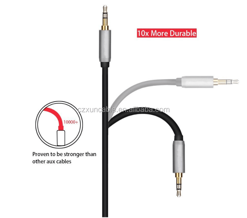 1.5m Gold Pin Copper 3.5mm To 2 Rca Cable Shielded Audio