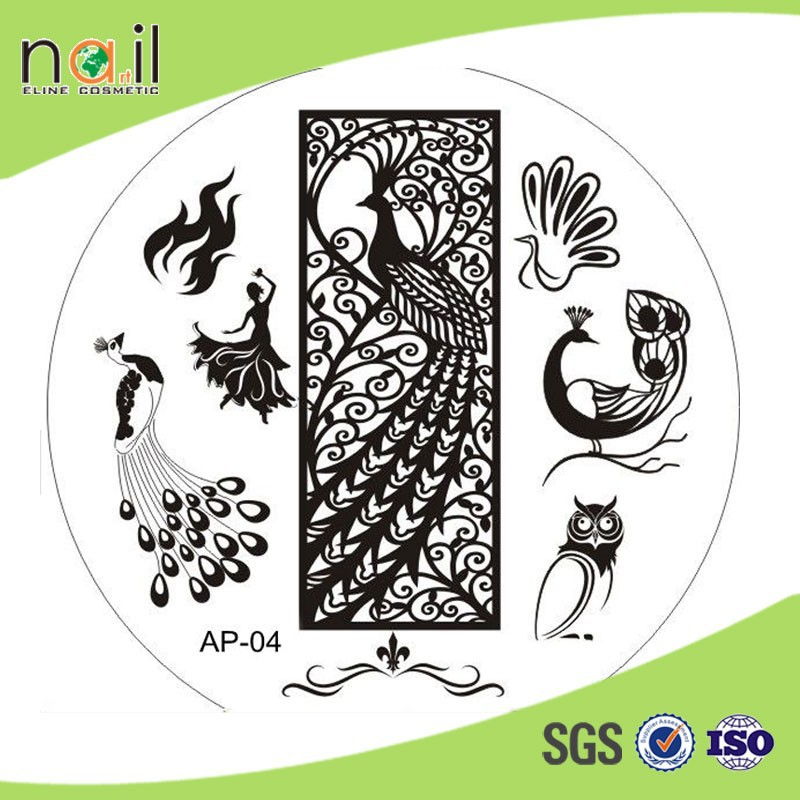 Fashion Nail Design Sting Plate For Diy Metal Art Plates St On Alibaba