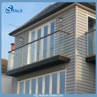 Stals Balustrade Outdoor/balcony Glass Railing Designs