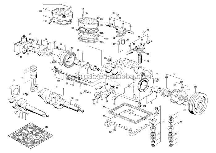 Bitzer refrigeration compressor connecting rod, View