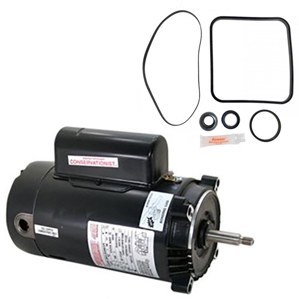hight resolution of get quotations hayward super pump 2 5 hp sp2621x25 replacement motor kit ao smith ust1252 w go