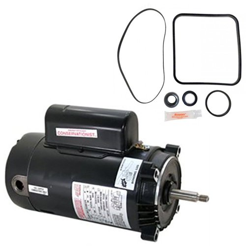 small resolution of get quotations hayward super pump 2 5 hp sp2621x25 replacement motor kit ao smith ust1252 w go