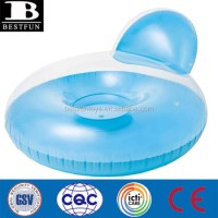 Inflatable Chair Custom Round Tube Chair Single Pool ...