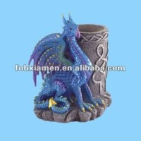 Ceramic Dragon Pen And Pencil Holders - Buy Pen And Pencil ...