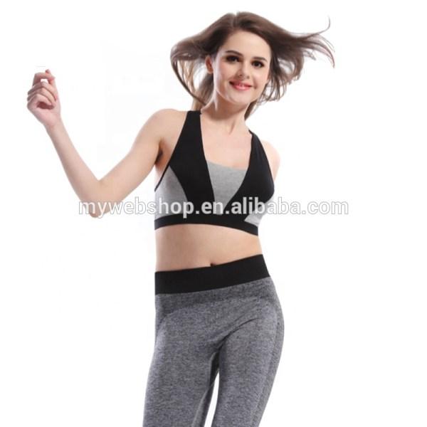 Algod Profesional Sacudidas Deportes Sujetador De Yoga Sujetadores Dormir Modo