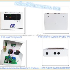 Non Addressable Fire Alarm System Wiring Diagram 3 Way Switch Red White Black Asenware Brand Prices List Of For