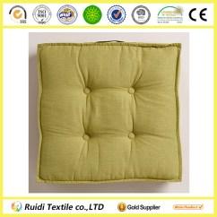 Wholesale Chair Cushions In Spanish Chinois Aqua Khadi Tufted Cushion Floor